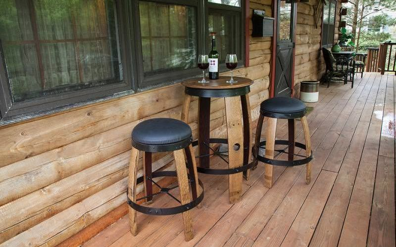 Recycled Wine Barrel Furniture