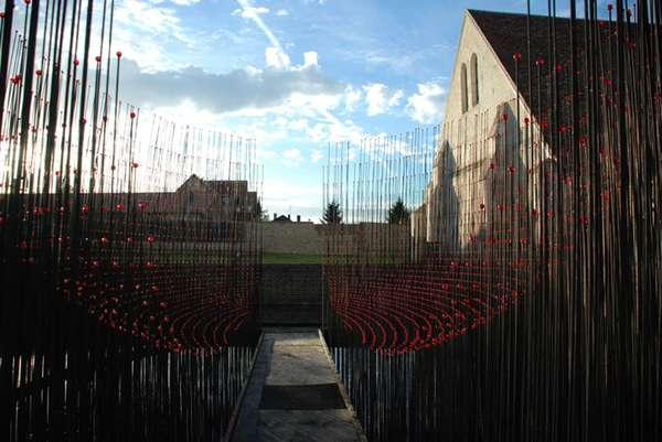 Giant Pin-Like Installations