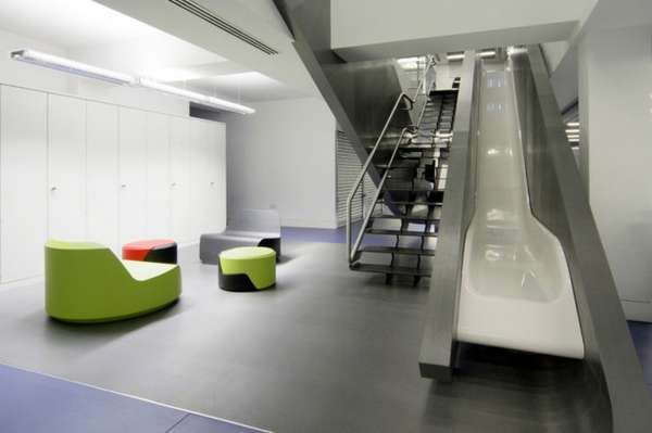 Contemporary Slide Offices