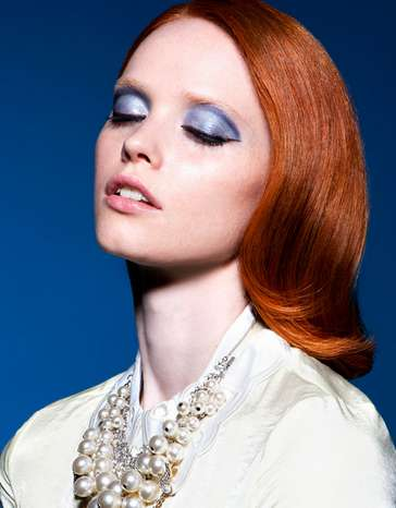 Glammed-Up Ginger Portraits