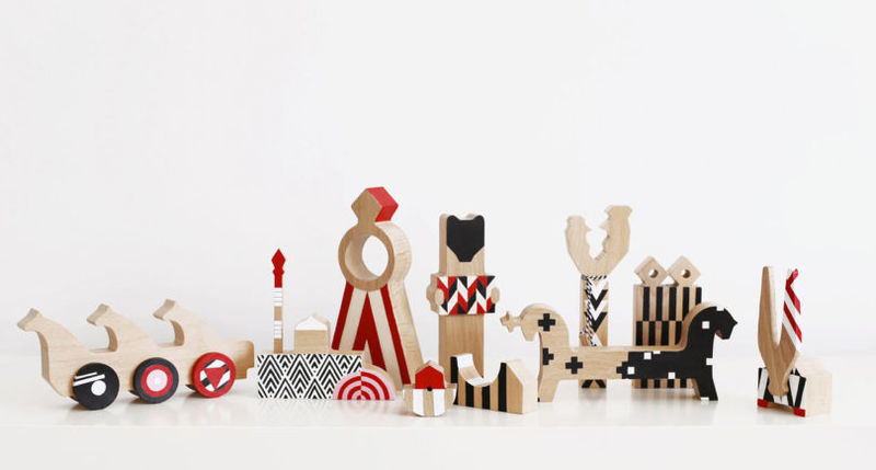 Russian-Inspired Wooden Toys