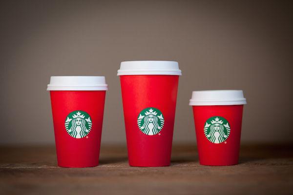 Minimalist Holiday Coffee Cups