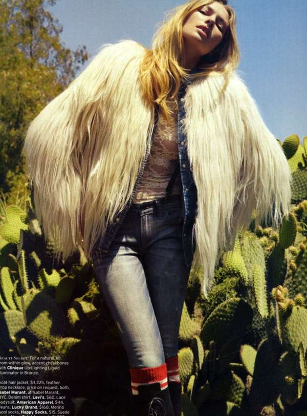 Denim Desert Editorials