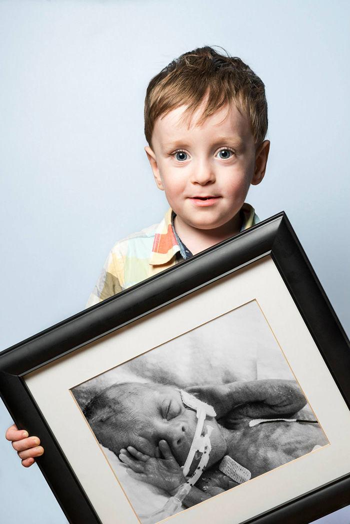 Post Premature Baby Portraits