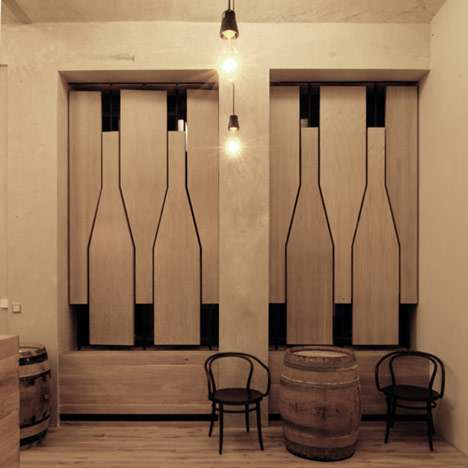 Bottle-Shaped Shutters