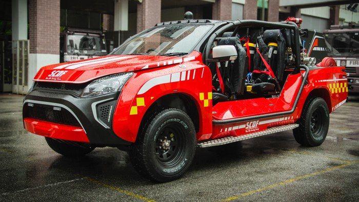 Compact Fire Trucks