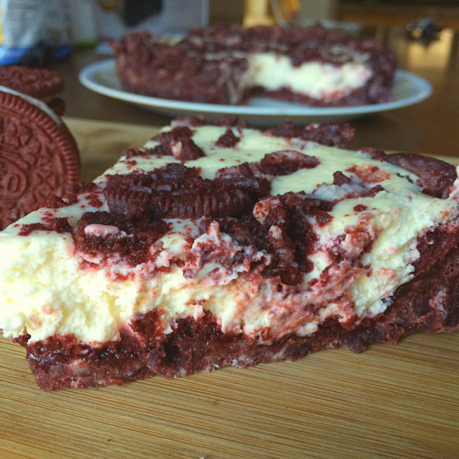 Red Velvet Cookie Cakes