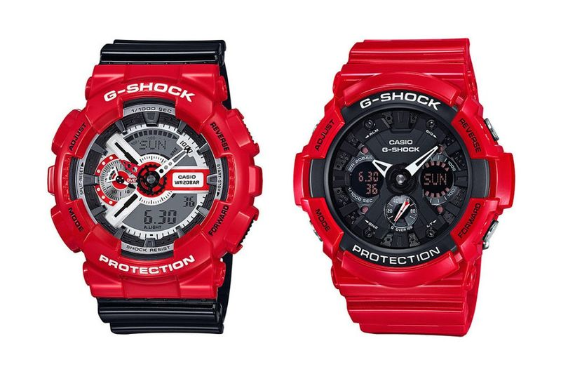 Romanticized Shock-Resistant Watches