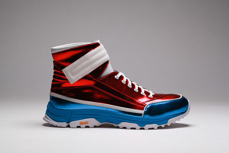 Patriotic High-Top Sneakers