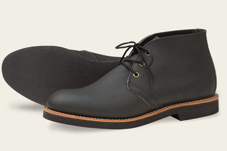 Weatherized Desert Boots Red Wing Foreman Chukka