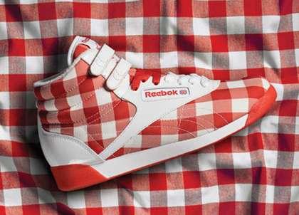 Gingham Sneakers