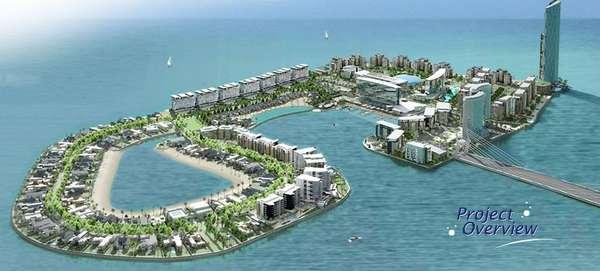Man Made Luxury Islands
