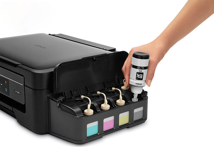 Eco Friendly Printers Refillable Ink Tanks