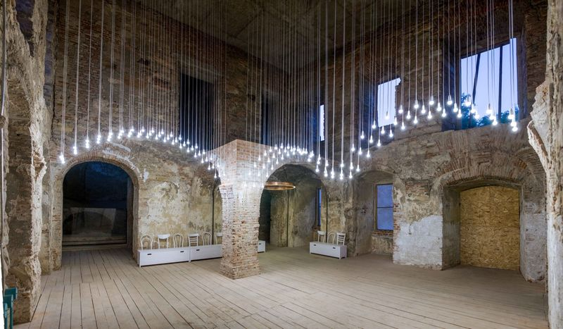 Castle Arch Lighting Installations