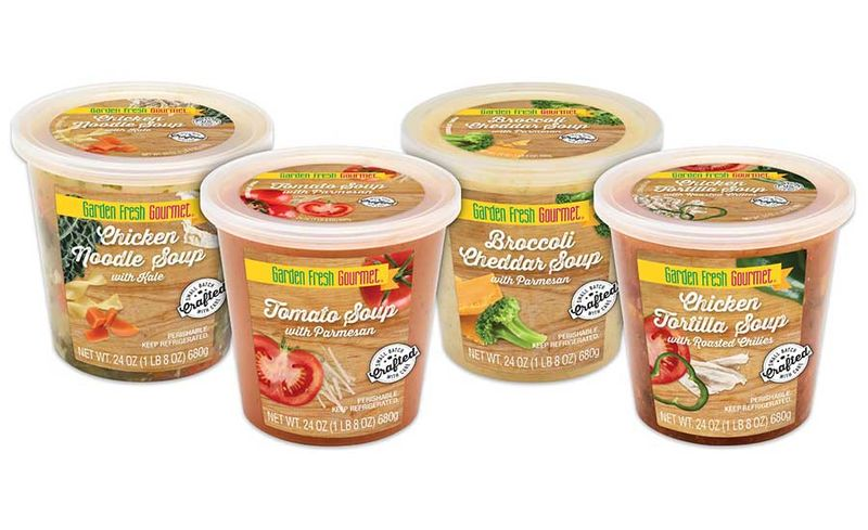 Vegetable-Based Refrigerated Soups