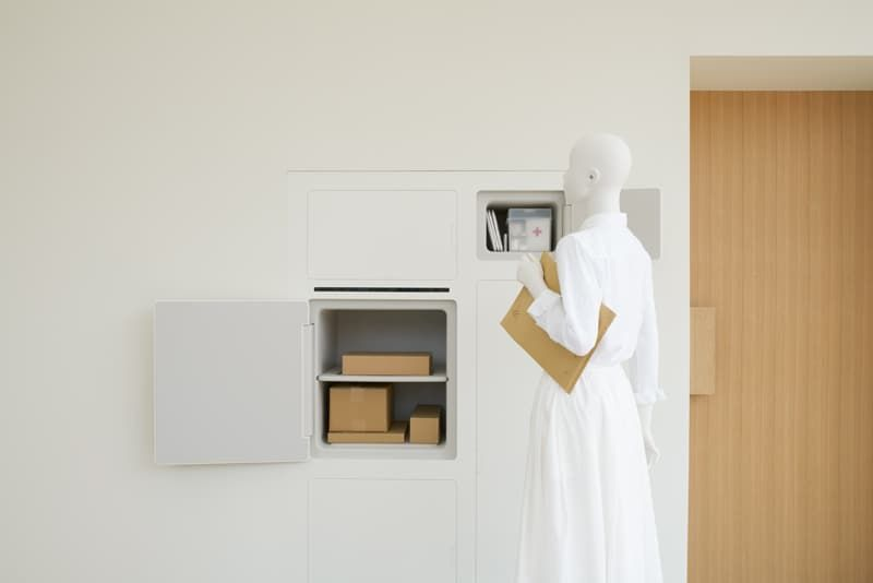 Refrigerator-Reenvisioning Houses