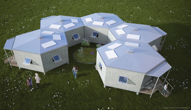 Eco-Friendly Refugee Housing
