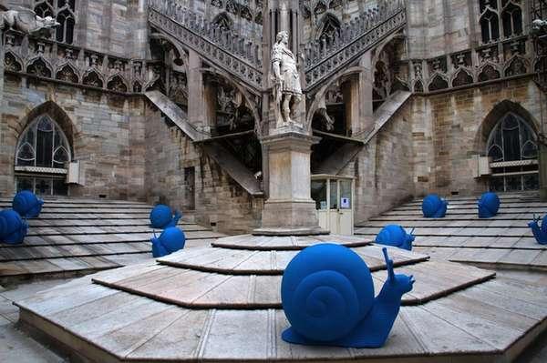 Blue Snail Installations