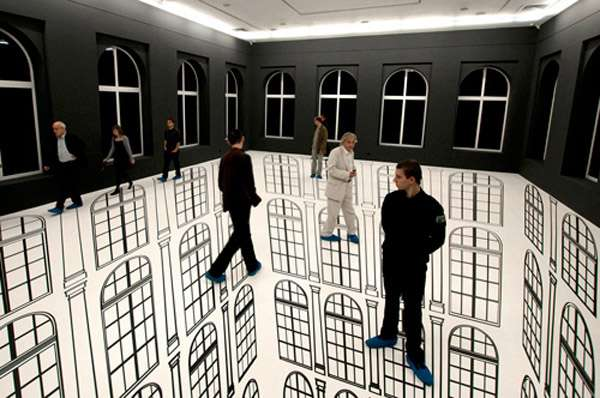 Surreal Architectural Optical Illusions