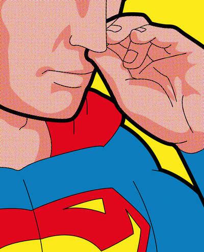 Humanized Comic Heroes