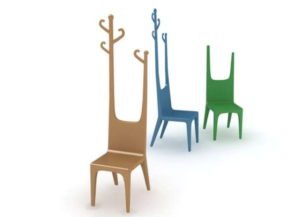 Forest Fauna Coat Racks