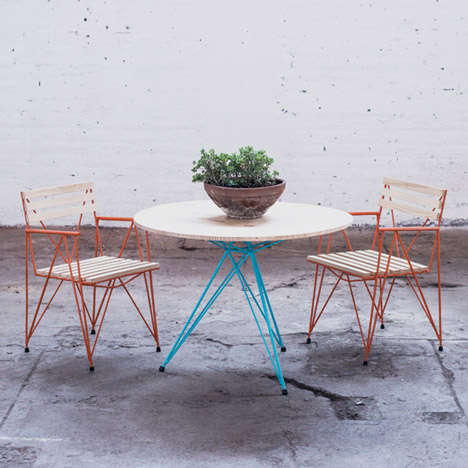 Rustic Steel Furniture