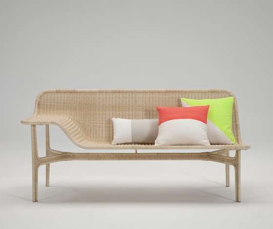 Molded Rattan Seating