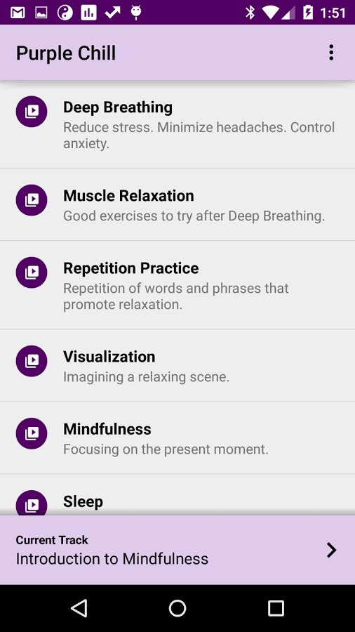University-Approved Relaxation Apps