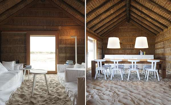 Sand-Filled Hotels
