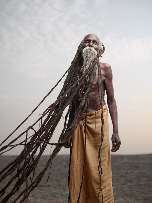 Arresting Sadhus Portrait Photography