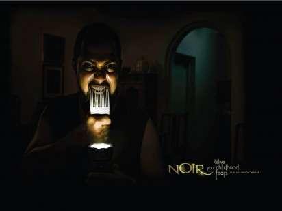 Frightening Flashlight Faces