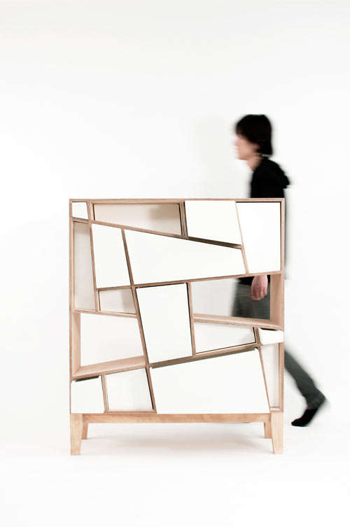 Dynamically-shaped Drawers
