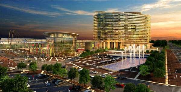 Monolithic Mega-Malls