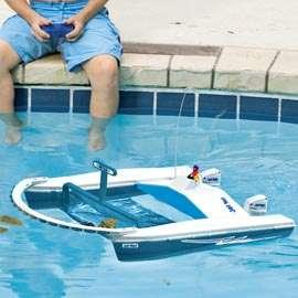 Remote Control Boat Pool Skimmer