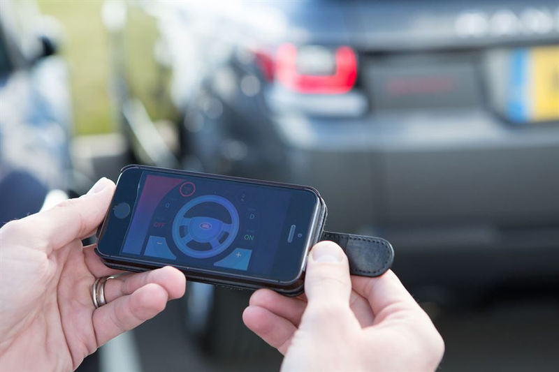 Smartphone-Controlled Cars