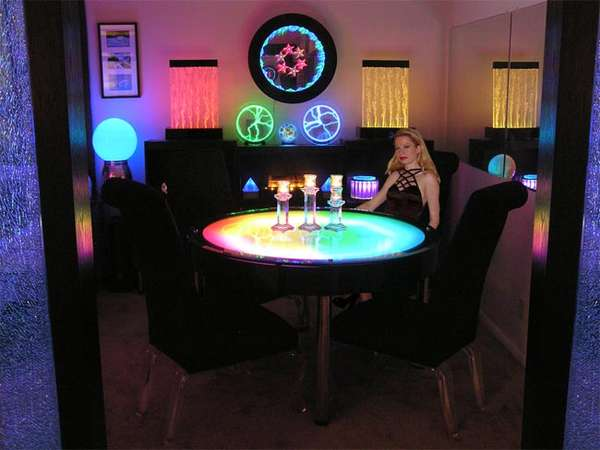 Color-Changing Decor