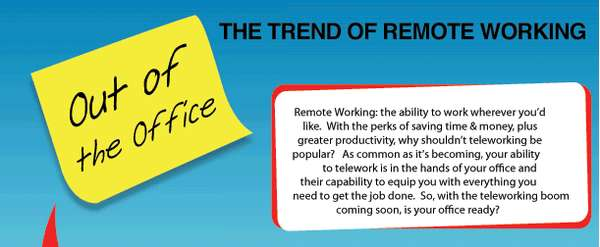 'Remote Working' Infographic