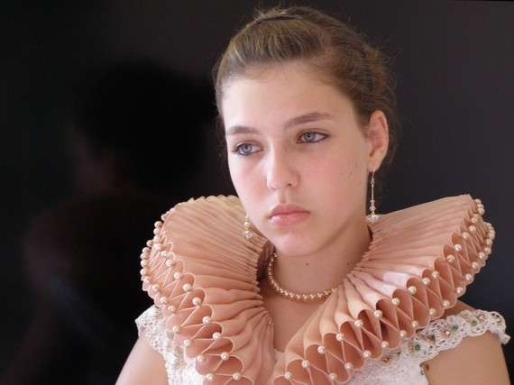 Stylized Renaissance Ruffled Collars