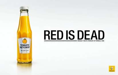 Renault Red Is Dead