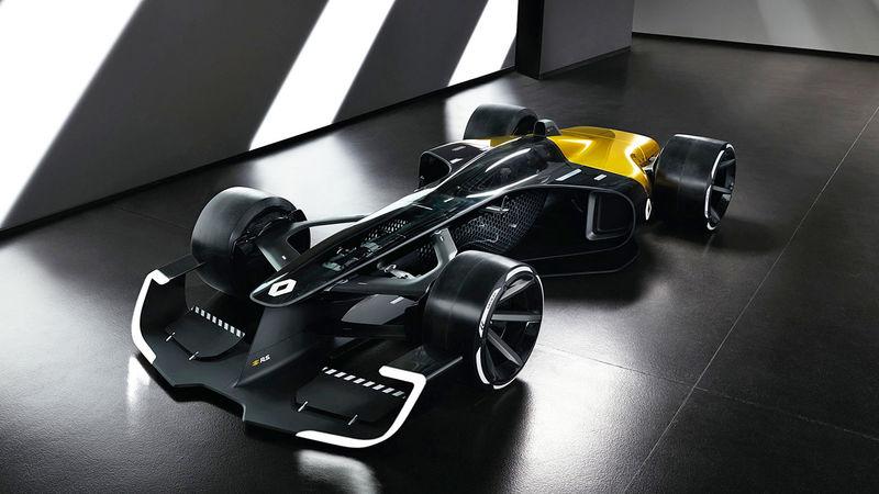 Ultra-light F1 Concept Cars