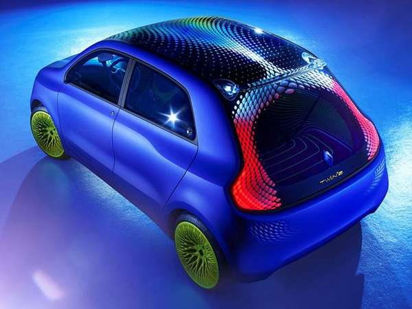 Shimmering Eco Concept Cars