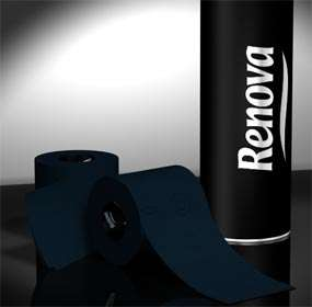 Renova Black & Red Toliet Paper