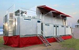 Portable 5 Star Hotel with 50 Person Capacity