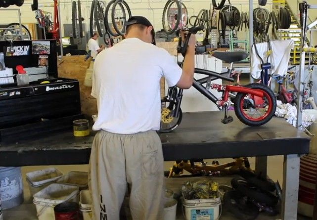Inmate-Crafted Bicycles
