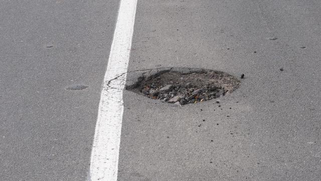 Pothole-Repairing Drones