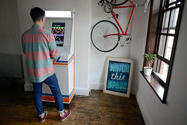 Minimalist Hipster Gaming Machines