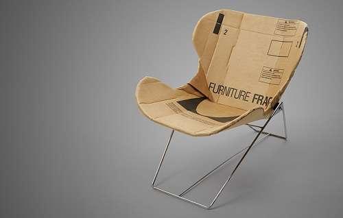 Cardboard Recliners