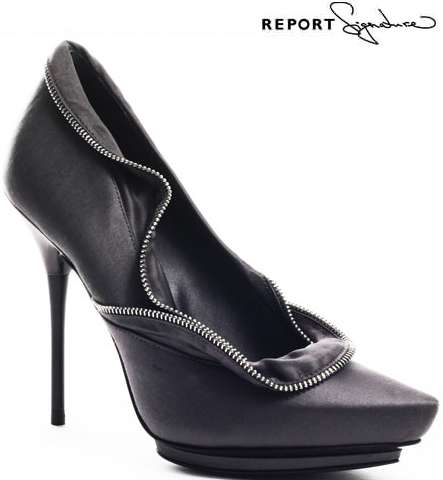 Zippered Pumps