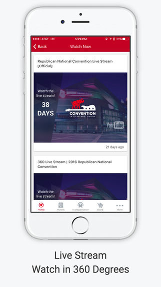 Political Convention Apps