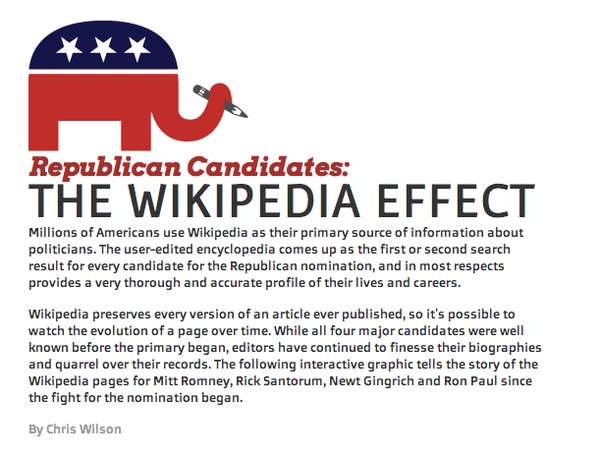 republican primary as told by wikipedia